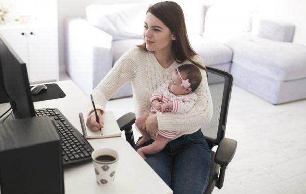 Home Office o teletrabajo: ¿Cómo hacer con los niños en casa?